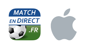 Application iPhone MatchEnDirect.fr