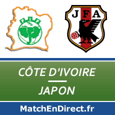 c te d 39 ivoire japon match en direct live du dimanche 15 juin 2014. Black Bedroom Furniture Sets. Home Design Ideas