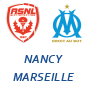 Nancy Marseille streaming,1-2, buts ,Highlights & Goals